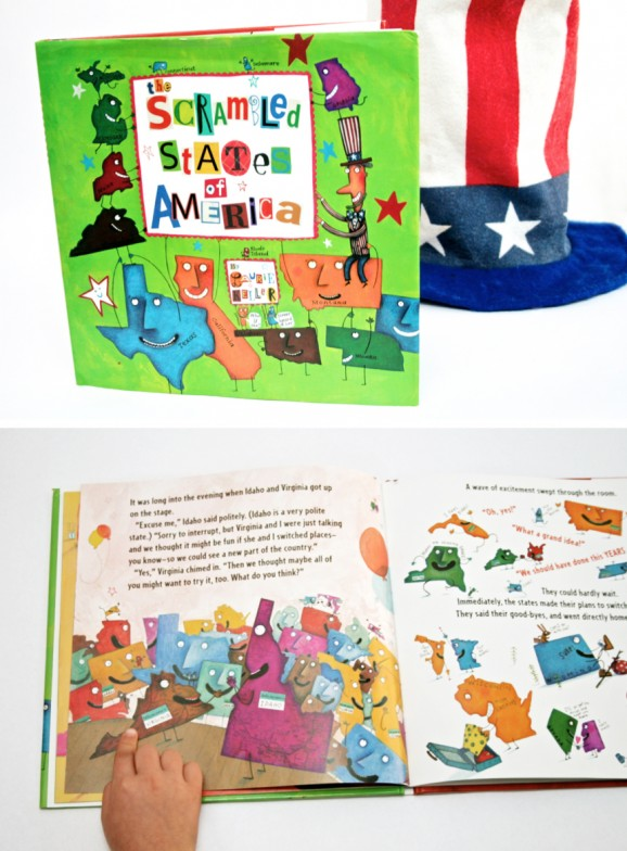 Scrambled States of America Book and Activity for Kids
