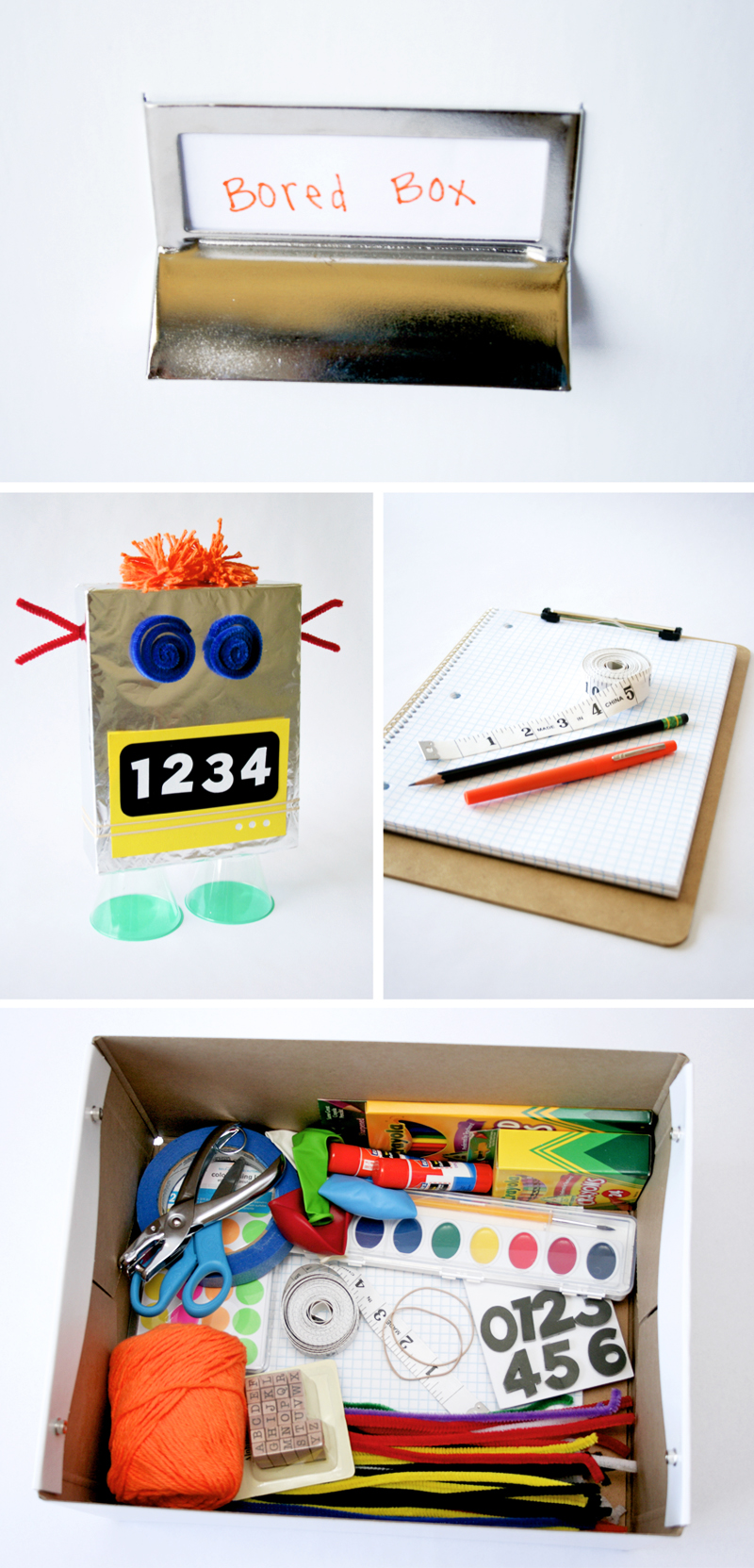 How to Stock a Bored Box for your kids