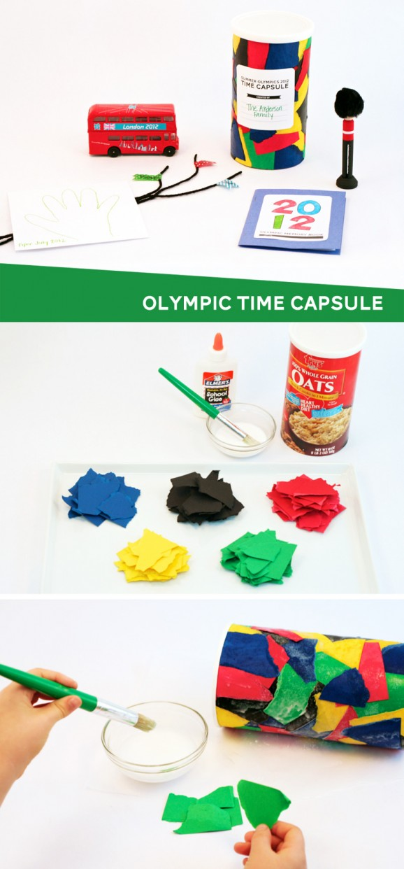 How To Make An Olympic Time Capsule #olympics