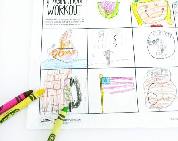 Worksheet Wednesday: Imagination Workout