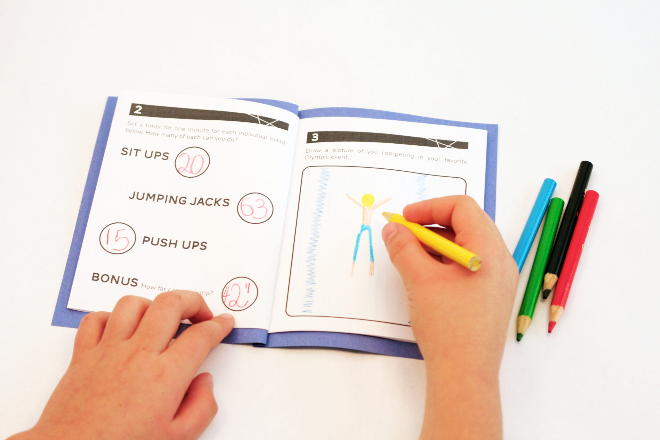Olympic Time Capsule - Free Printable Memory Book