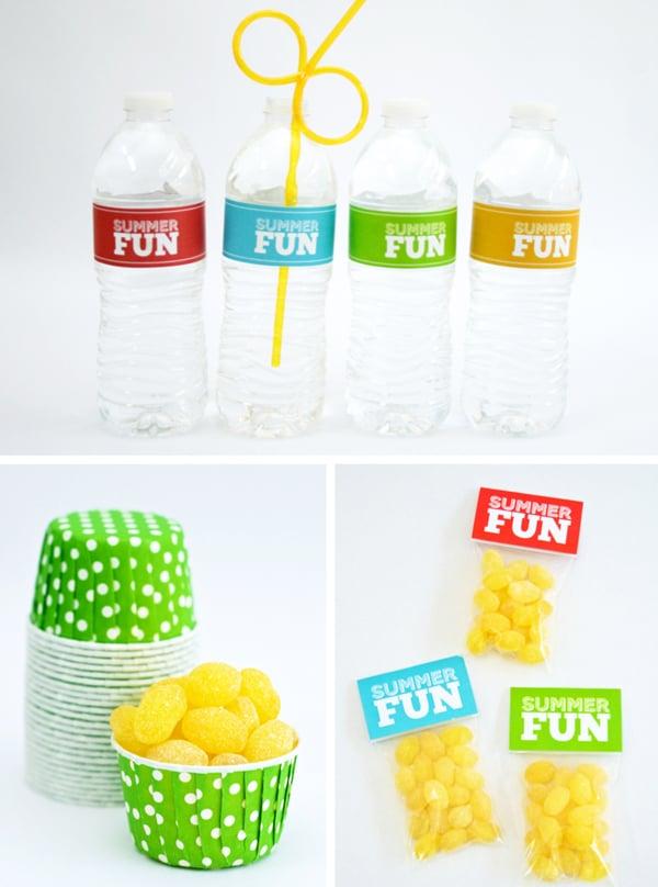 Summer Fun Free Printable Party