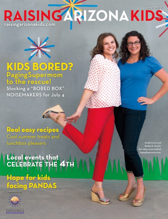Raising Arizona Kids July 2012 Cover