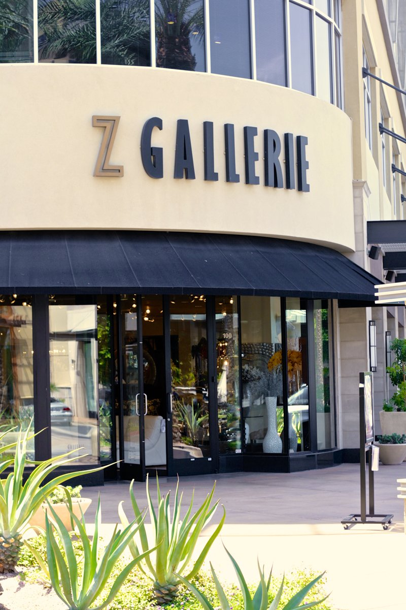 Z Gallerie in Scottsdale, AZ Hosted our Bali Birthday Party Photo Shoot #zgallerie