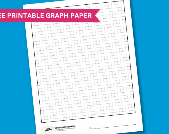 Worksheet Wednesday: Graph Paper