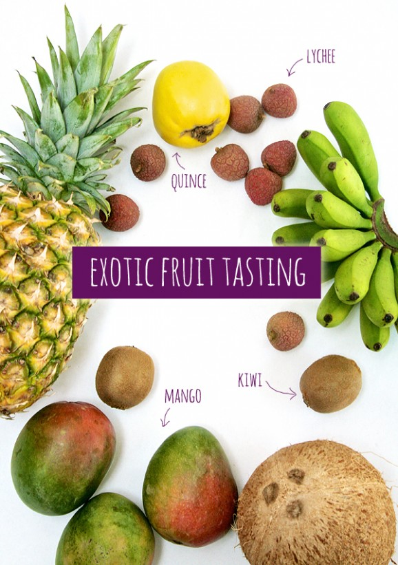 Fruit Tasting Party Game Idea #partygames #fruit