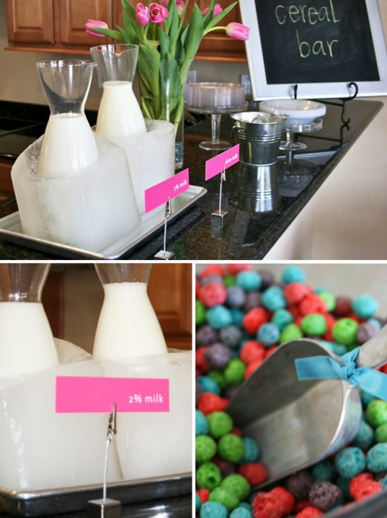 Genius Ice Blocks to Keep Milk Cold at Parties #tutorial #parties