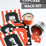 Cake Walk Kit Free Printables from PagingSupermom.com #halloween #classparty #cakewalk #printables