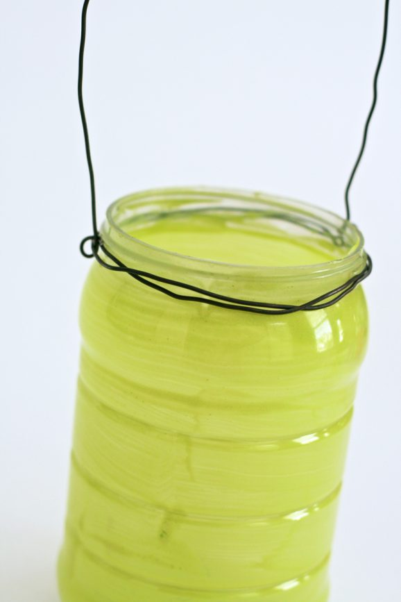 Cute Kid-Safe Lantern from Mayo Jar to take Trick or Treating PagingSupermom.com #trickortreat #halloween