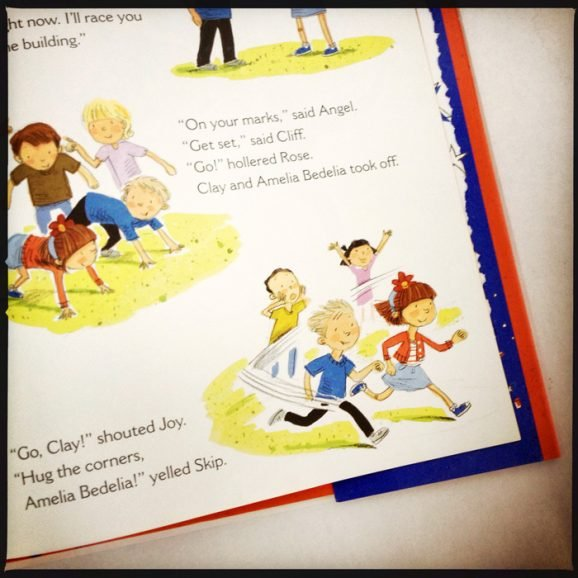 See inside new book Amelia Bedelia's First Vote fun children's book PagingSupermom.com #ameliabedelia #vote