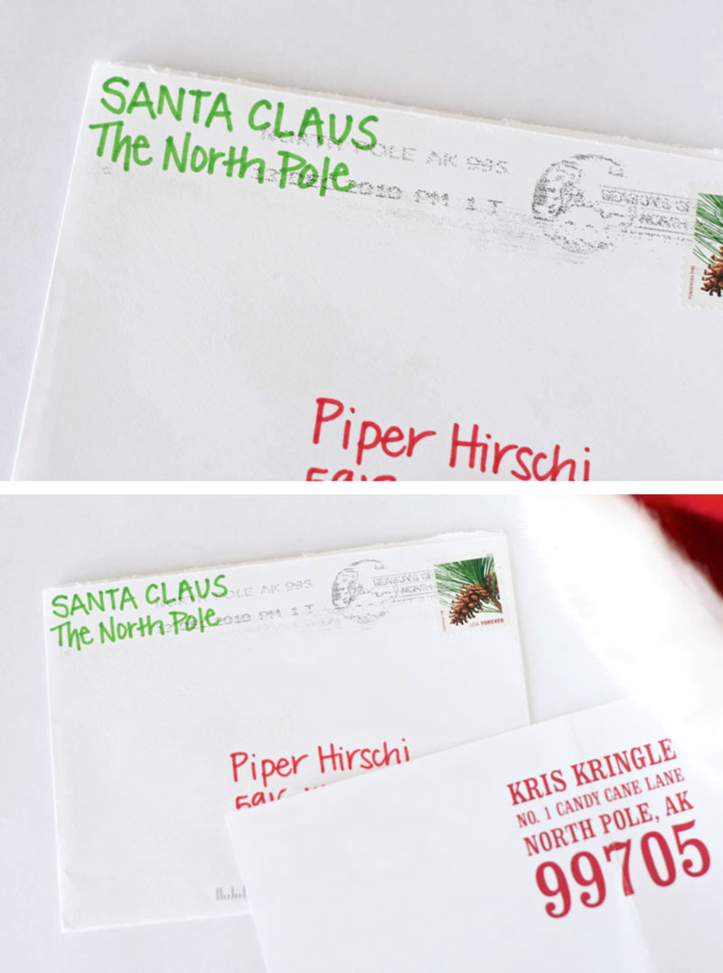 ... Get a Postmarked Letter from Santa by supermommoments.com | Pear Tree