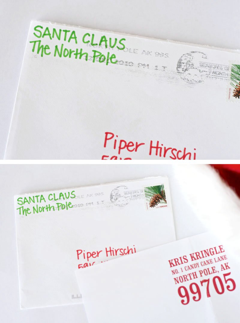 How to Get a Postmarked Letter from Santa - Paging Supermom