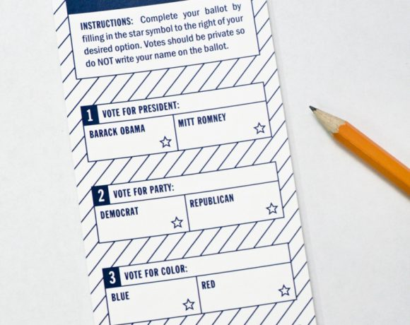 Presidential Election Ballot for Kids