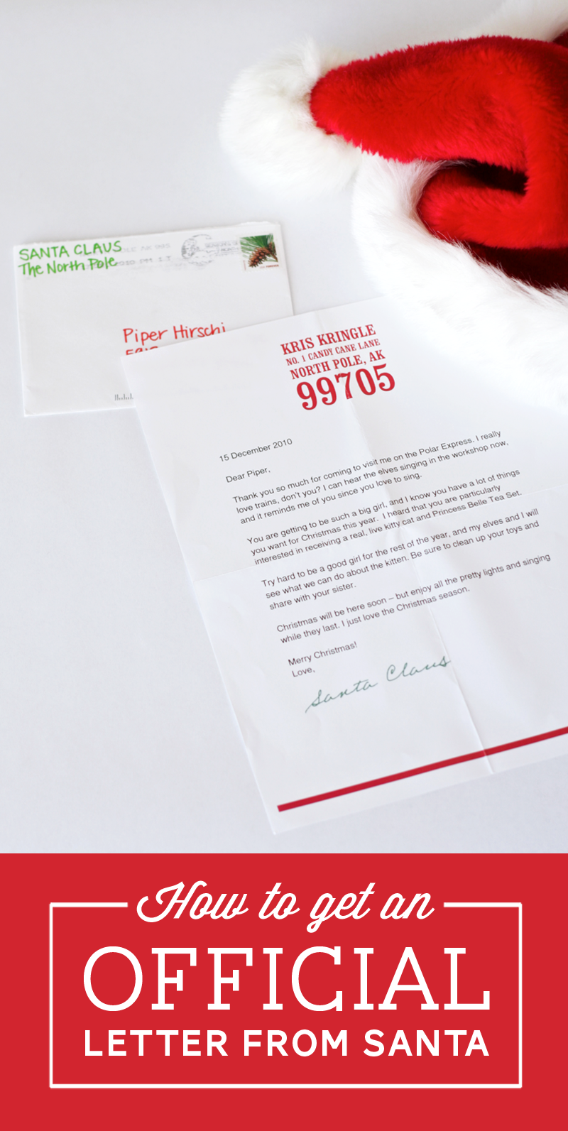 How to Get a Postmarked Letter from Santa by supermommoments.com ...