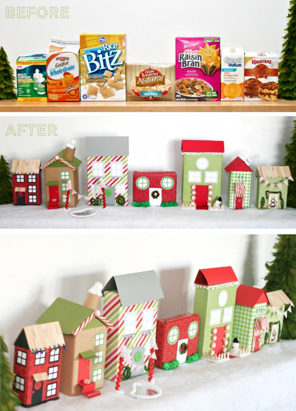 5 Fun Christmas Ideas from PagingSupermom.com so easy and cute! #christmas #kidscrafts