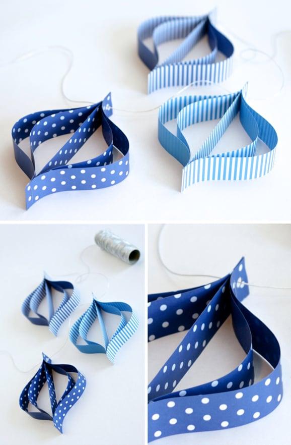 Paper Driedel Garland Craft