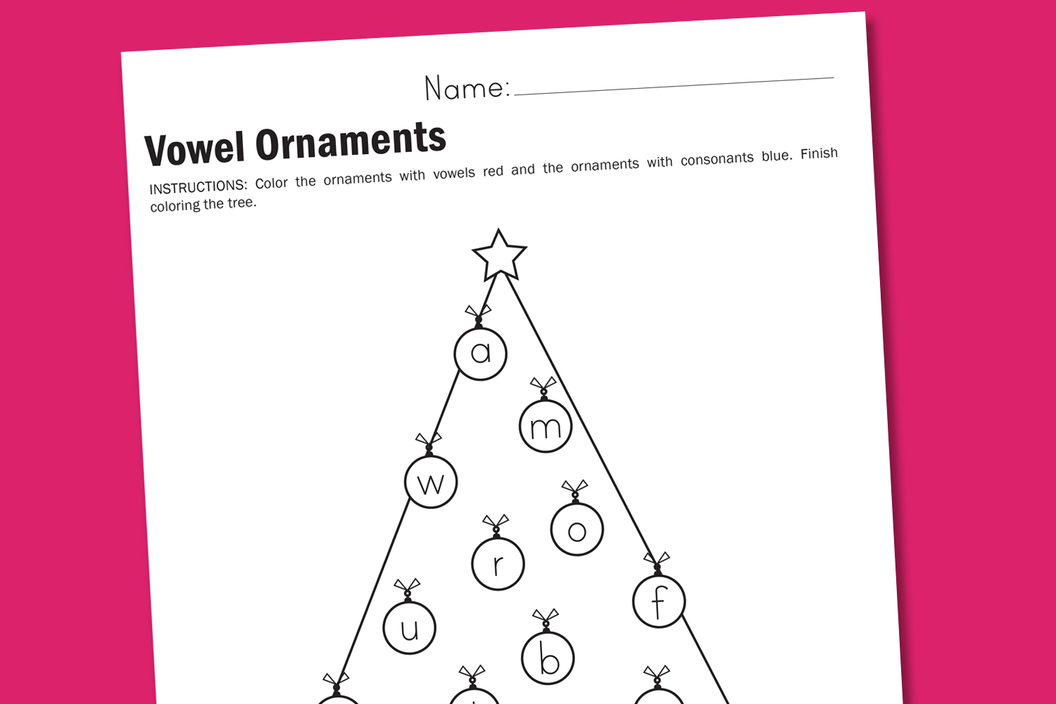 #worksheet #printable #christmas