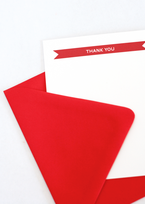 Charming Thank You Note free printable from PagingSupermom.com #thankyounotes #printables #freebies
