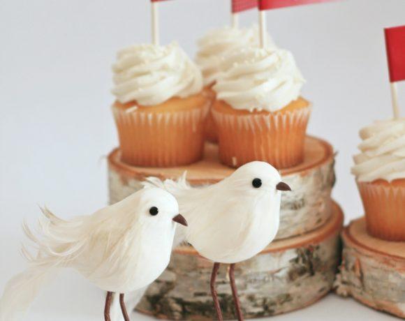 free valentine love bird cupcake toppers #valentine #printable #cupcake PagingSupermom.com