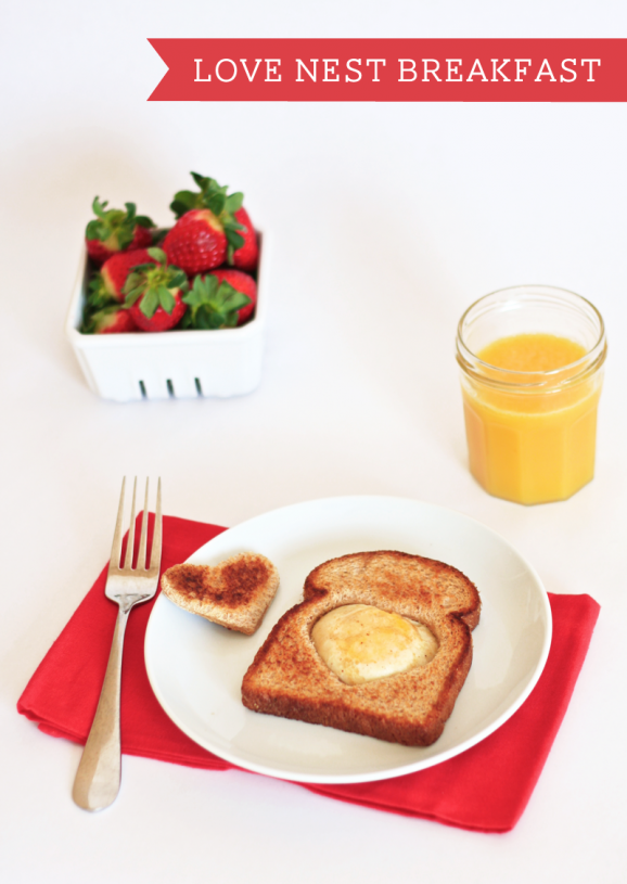 valentine breakfast idea for kids #valentine #breakfast PagingSupermom.com