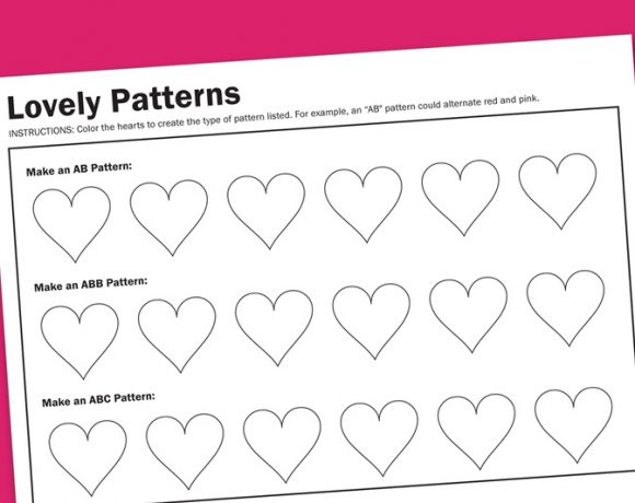 Worksheet Wednesday: Lovely Patterns