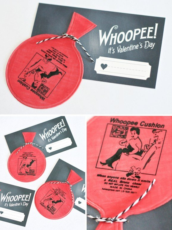 free printable whoopee cushion valentines - paging supermom, Ideas