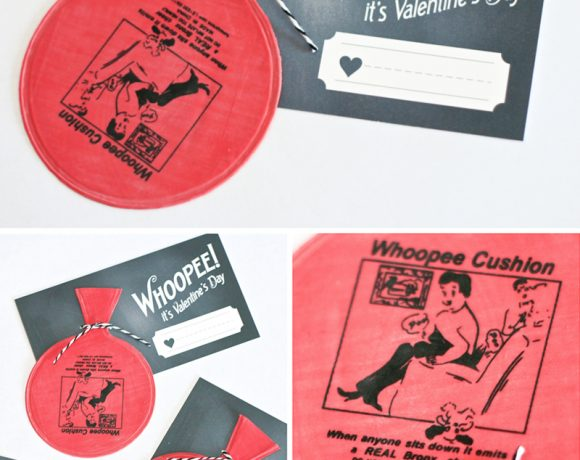Free Printable Whoopee Cushion Valentines
