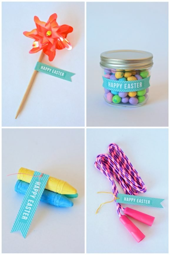 eater gift ideas with free printable at pagingaupermom.com #easter #printable #gift