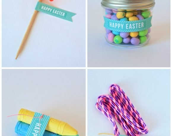 One Easter Tag, Four Ways