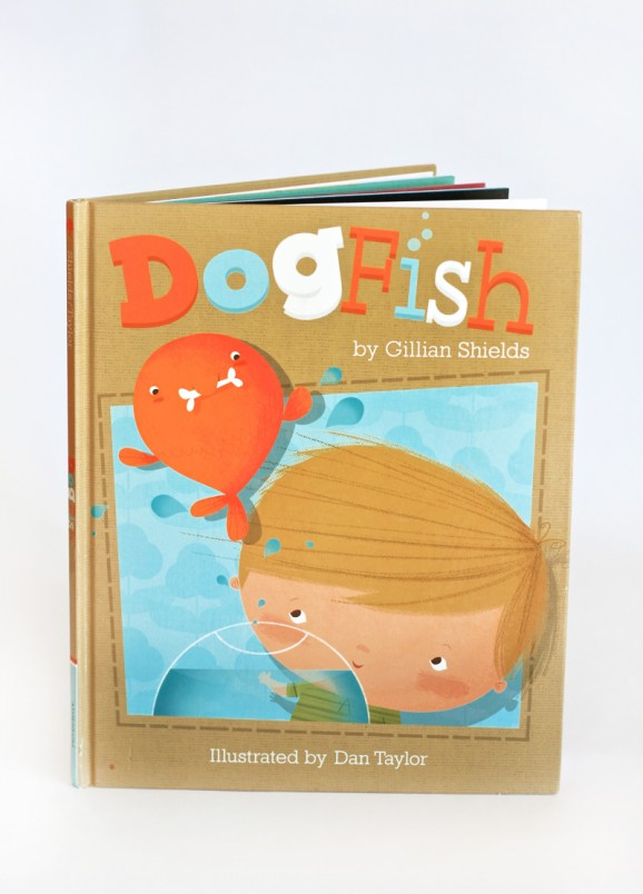 Adorable Book about a Boy who wants a dog but has a goldfish #goldfish #goldfishparty #book