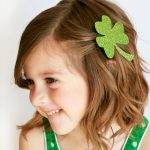 Easy Shamrock Hair Clip