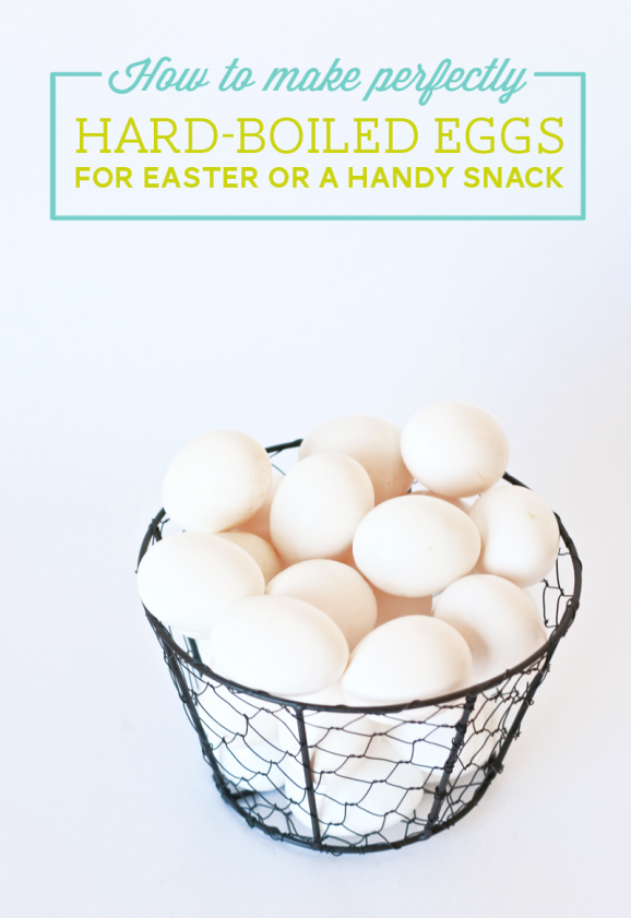 How to perfectly Hard-Boil Eggs recipe from PagingSupermom.com #eggs #easter #eggdecorating