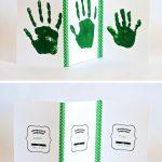 Leprechaun Handprint Cards