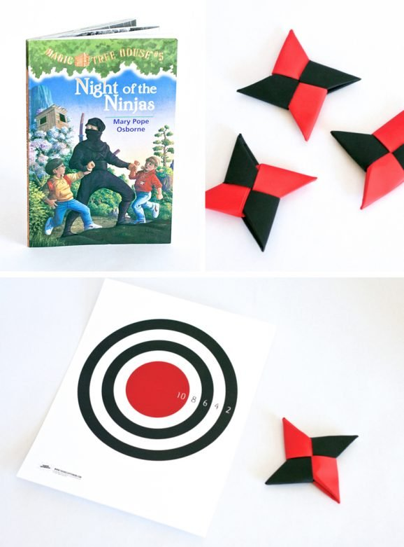 Ideas for getting boys to read at PagingSupermom.com #reading #ninja #book