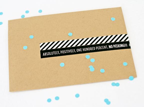 Ultrasound Envelope Wraps for Baby Gender Reveal at PagingSupermom.com #genderreveal #ultrasound
