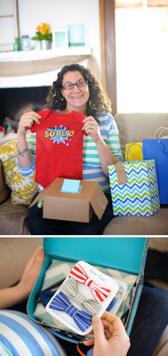 Baby Shower for Bettijo at PagingSupermom.com #babyshowera