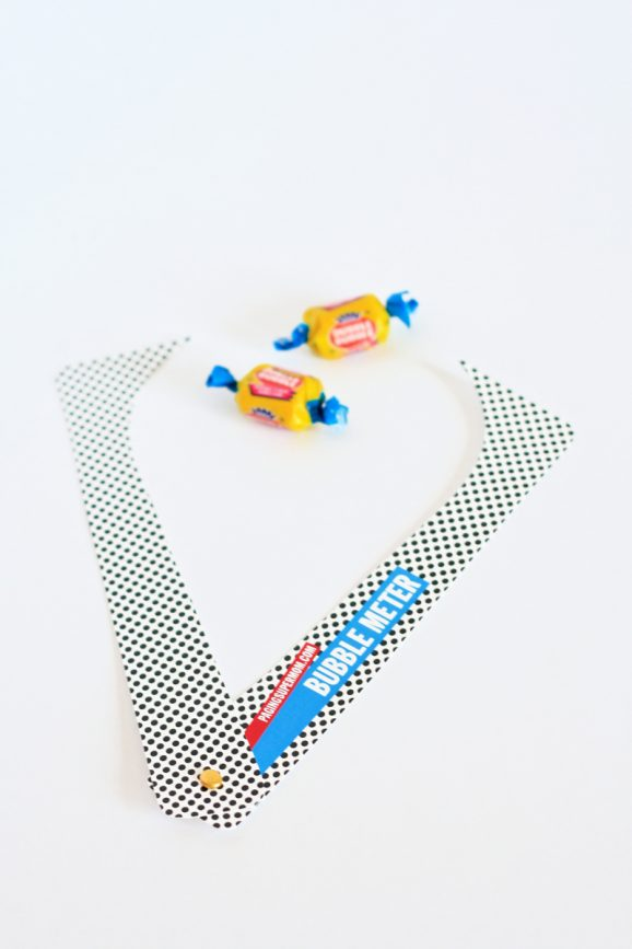 Perfect for Family Reunion - Free Printable Bubble Meter for Bubble Gum Contests at PagingSupermom.com #bubblegum