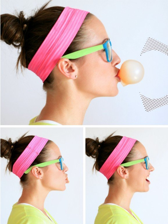 How to do a Bubble Gum Blowing contest w/ free printables via @PagingSupermom
