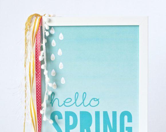 Hello Spring: 12 Printable Freebies!