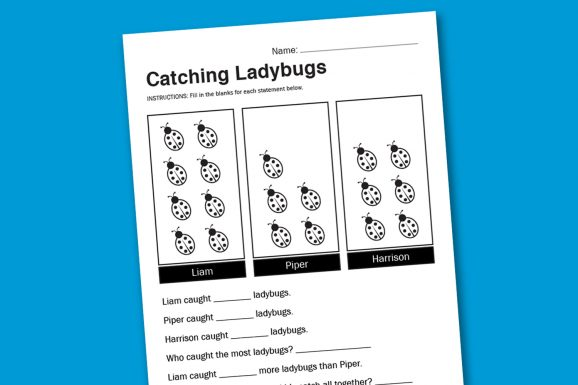 fun free visual math worksheets #worksheet #math