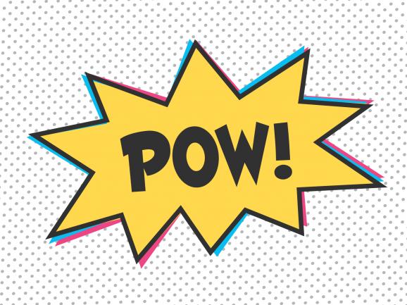 POW! PagingSupermom.com #pow