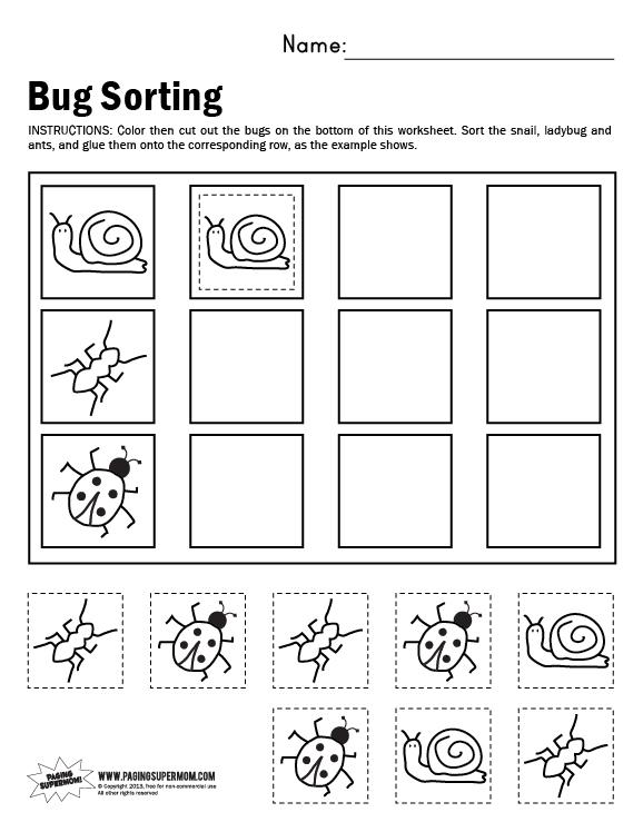 {Math Sorting Worksheets pre k math sorting worksheets halloween – Math Sorting Worksheets