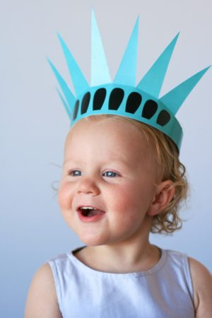 Free Printable Statue of Liberty Crown at PagingSupermom.com
