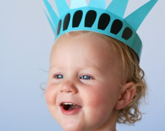 Free Printable Statue of Liberty Crown