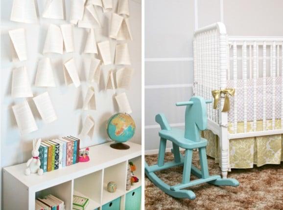 Girl Literary Nursery at PagingSupermom.com