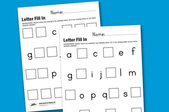 great pre-k printable worksheets at PagingSupermom.com