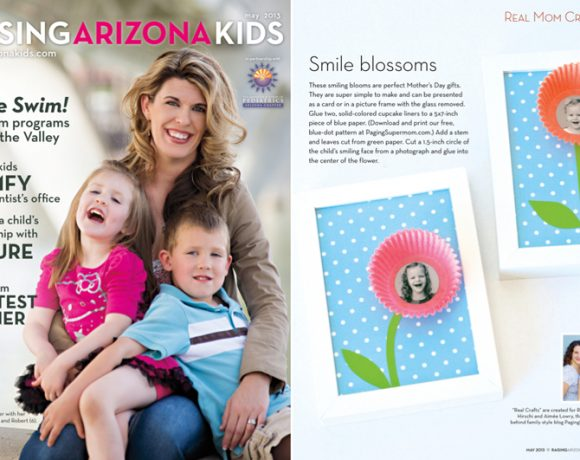 Smile Blossoms: Gifts for Mom or Teacher