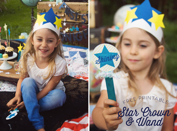 Star Gazing Party Favors on PagingSupermom.com #thePartyHop