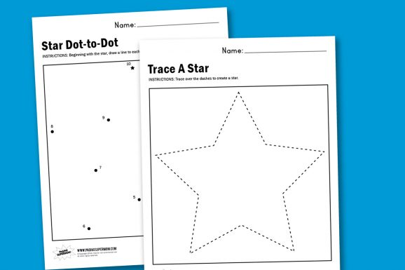Worksheet Wednesday: Make A Star - Paging Supermom