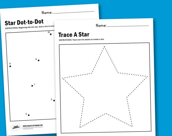Worksheet Wednesday: Make A Star